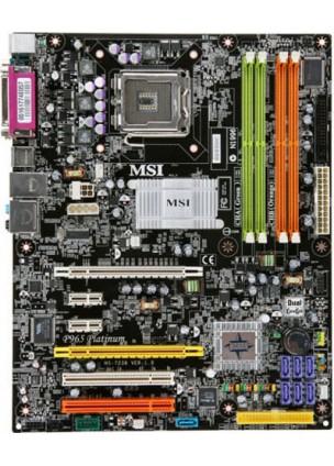 MSI P965 PLATINUM 775 Pin Anakart